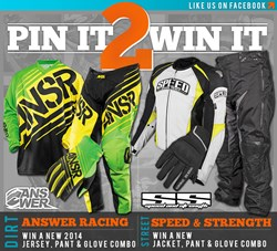 Pin to Win New Motorcycle Gear at Chaparral Motorsports Facebook Page