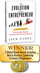 The Evolution of an Entrepreneur by Jack Nadel - Winner of 5 Global Ebook Awards