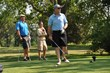Dr. Robert Lawler tees off with Everest Academy
