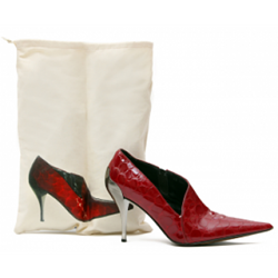 Printed Lite Drawstring Shoe Bag with Photo