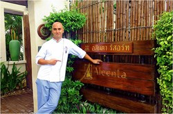Stepping up to the plate: Aleenta Hua Hin-Pranburi Resort and Spa will be putting celebrity Joni Anwar through his epicurean paces, exploring his newfound fascination with food as an unexpected new member of the resort's renowned culinary dream team.