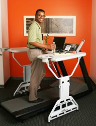 TrekDesk Treadmill Desk