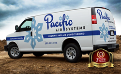 Pacific Air Systems Award-winning Fleet Design by Graphic D-Signs, Inc.
