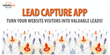 WebsiteBox Announces Powerful New Lead Capture and Collaboration Tool...