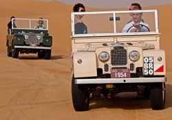 The only place in the world where guests can drive in these iconic vehicles through the pristine dunes of the Dubai Desert