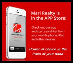 Mari Realty First to Release Mobile App for Huntsville TX/Lake Livingston/Lake Conroe area