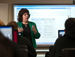 Dr. Peggy Bowen, Alvernia University