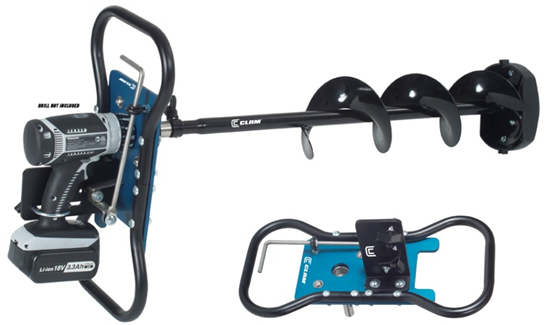 CLAM™ Breaks Out Exciting New Ice Auger Conversion Kit