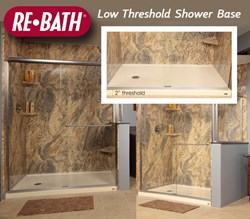 Re-Bath Low Threshold Shower Base