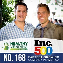 HUMAN Healthy Vending Lands on the Inc 500 List