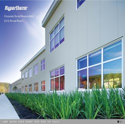 Cover of Hypertherm's 2012 CSR Report