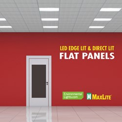 MaxLite LED Ceiling Panels and Troffers at EnvironmentalLights.com