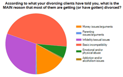 Causes of divorces