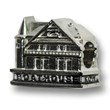 Boathouse Row Sterling Silver Charm for Charm Bracelets