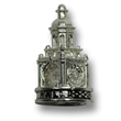 Independence Hall Sterling Silver Charm for Charm Bracelets
