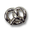 Philly Pretzel Sterling Silver Charm for Charm Bracelets