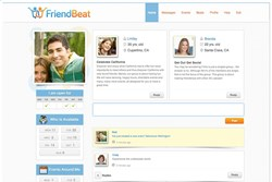 FriendBeat.com - Make New Friends Real