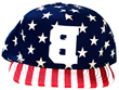 American Flag Snap Back