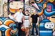 Canva founders Cliff Obrecht, Melanie Perkins and Cameron Adams