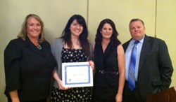 Shapiro's Libby Redditt Wins AIFBA Scholarship