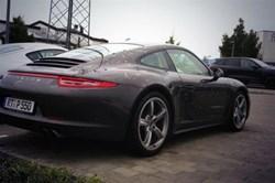 Porsche 911 Hail attacked car
