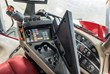 Guided by customer input, Case IH redesigned the MultiFunction handle on the Multi-Control armrest, to make operation even simpler. On the new Magnum series, the buttons are raised, larger, softer and