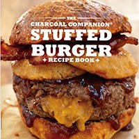 Charcoal Companion Stuffed Burger Recipe Book