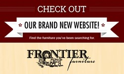 Check Out Frontier Furniture's New Website!