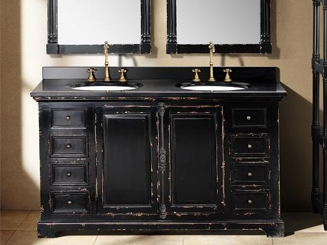 james martin solid wood 5925 genna antique black double bathroom vanity 238 103 5631