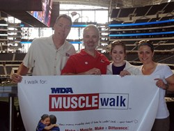 SSGers volunteer at the MDA Muscle Walk