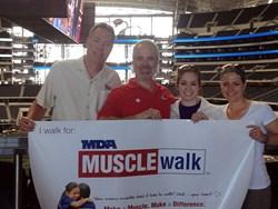 SSGers volunteer at the MDA Muscle Walk