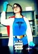 Emma Chacon won wit this entry, a self portrait in a nurse superhero costume she made