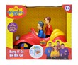 Adventures Await your little one with the Wiggles in their famous red car