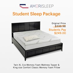 Back-to-School Sleep Tips and Student Discounts Announced by Amerisleep