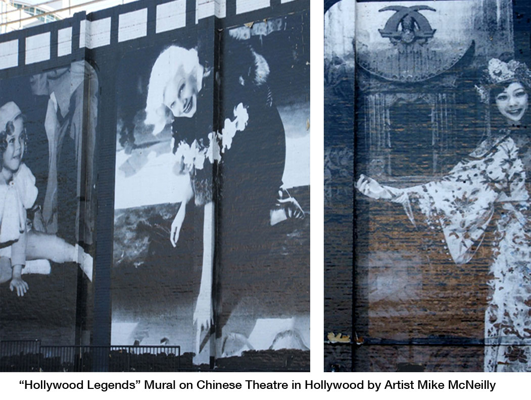 hollywood murals created in the 1980 s by artist mike mcneilly now