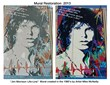 """Jim Morrison Life-Line"" Mural created in the 1980's by Artist Mike McNeilly"