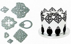 damask die cutters