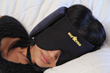 Regular 3 Piece Nap Star, Showing Pillow, Mask, Chin Strap