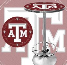 Texas A & M Pub Table from the Texas Poker Store