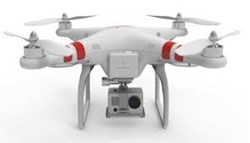 DJI Phantom Quadcopter with GoPro mount