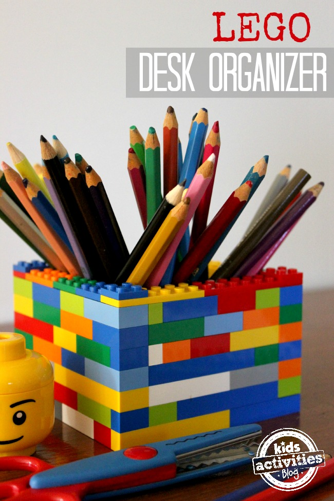 How To Make A Lego Desk Organizer Has Been Published On Kids Activities Blog