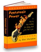 how to play lead guitar how pentatonic power