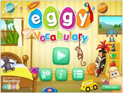 Eggy Vocabulary App - from Reading Eggs