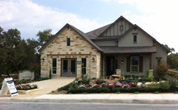 Village Builders San Antonio's The Reserve at Hill Country Retreat Welcome Home Center