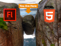 Video delivery in HTML5 and Adobe Flash