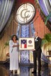 Member of U.S. Congress Corrine Brown of Florida presented Church of Scientology Celebrity Centre Vice President Shane Woodruff with a U.S. Capitol flag in honor of the Church and its parishioners.