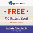 Signazon.com Celebrates Labor Day 2013 With Special Business Card Promotion