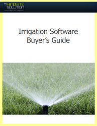irrigation software buyer's guide