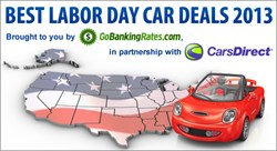 Labor Day Car Deals 2013