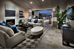Open floor plan at Brookfield Sentinels Residence 2 in San Diego.